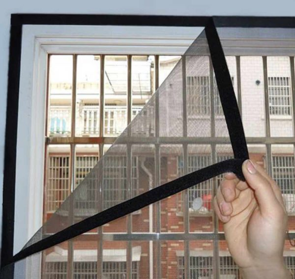 flexible window screen velcro